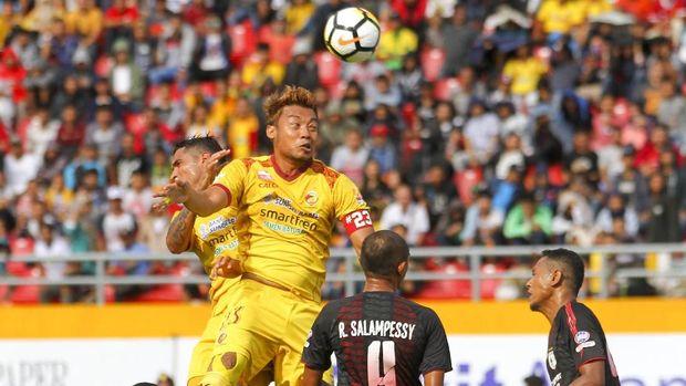 Persipura Jayapura sukses mencuri satu poin di markas Sriwijaya FC.