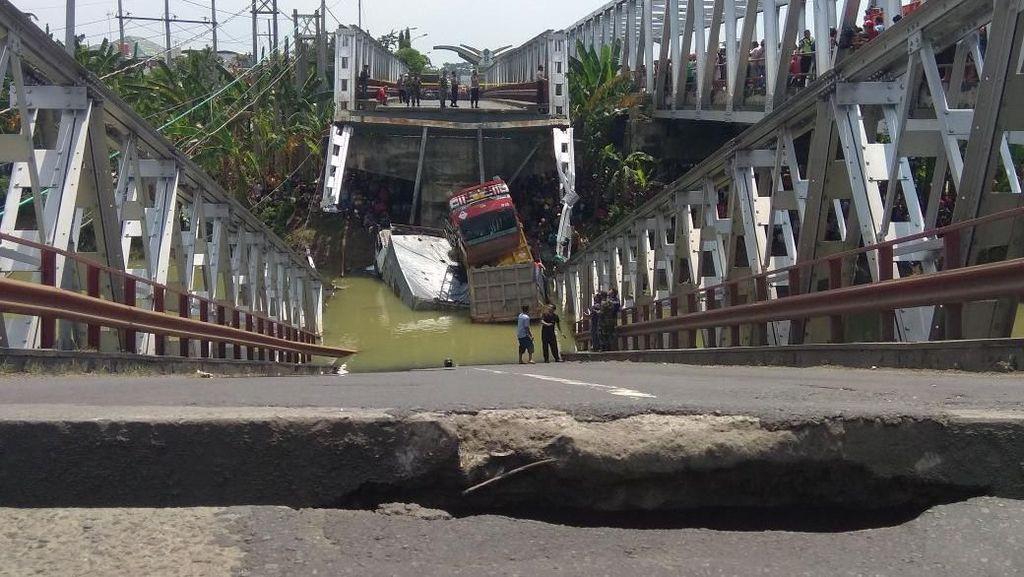 Jembatan Babat yang Ambrol Bisa Awet Sampai 100 Tahun