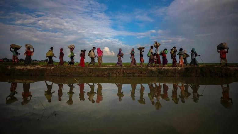 DK PBB Diminta Bahas Laporan Kekejaman Myanmar terhadap Rohingya