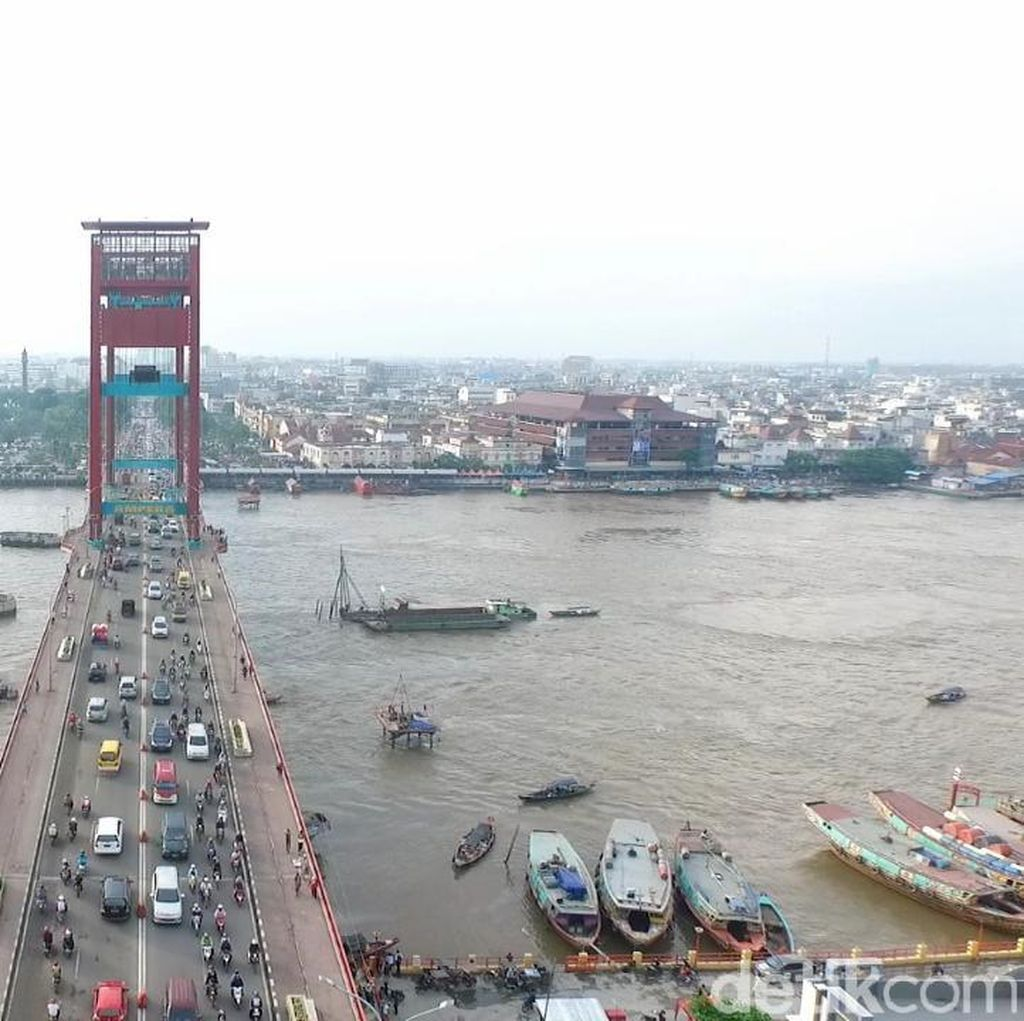 Rekayasa Lalin Jelang Asian Games, Jembatan Ampera Akan Ditutup
