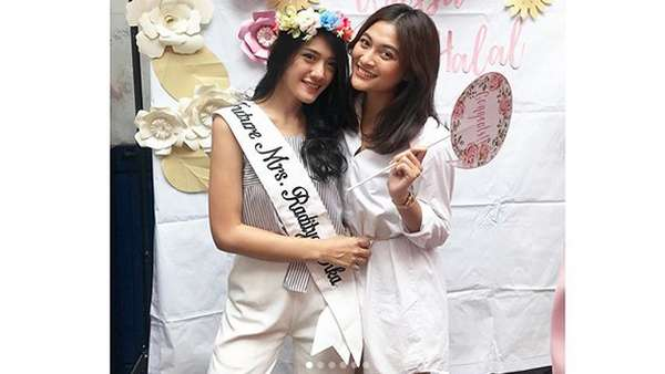 Keseruan Bridal Shower Annisa Aziza
