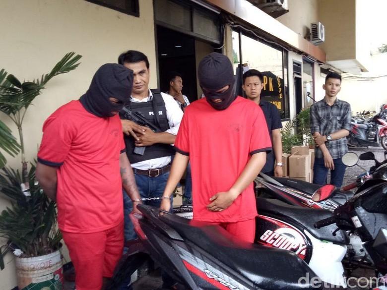 Pencuri Motor Modus Gandakan Kunci Ditangkap di Gunung Sahari