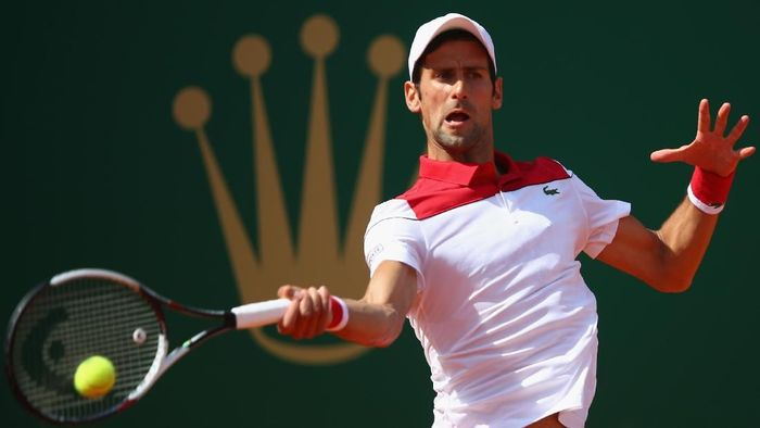 Novak Djokovic kembali level kebugaran terbaik. (Foto: Julian Finney/Getty Images)