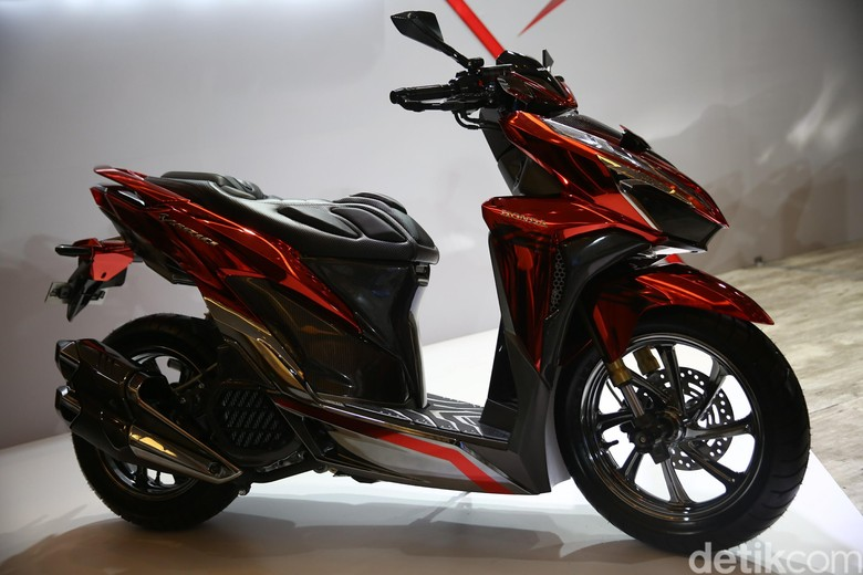 Honda Vario Sporty Bobber garapan Foto: Agung Pambudhy