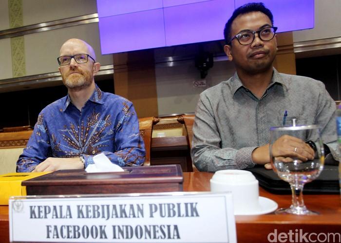Saat Facebook Indonesia disidang DPR. Foto: Lamhot Aritonang