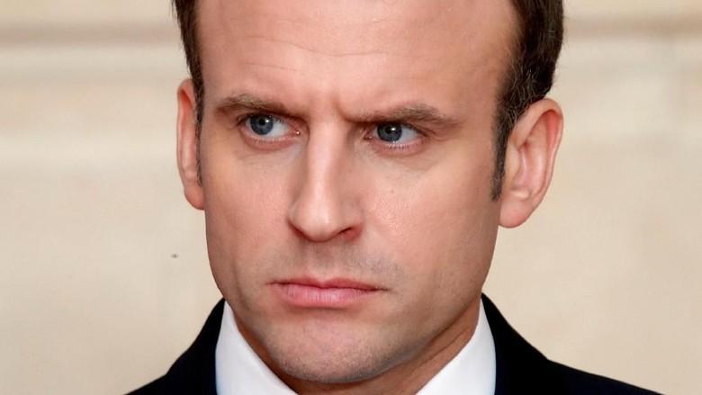 Presiden Prancis Kutuk Kekerasan yang Tewaskan 58 Warga Palestina