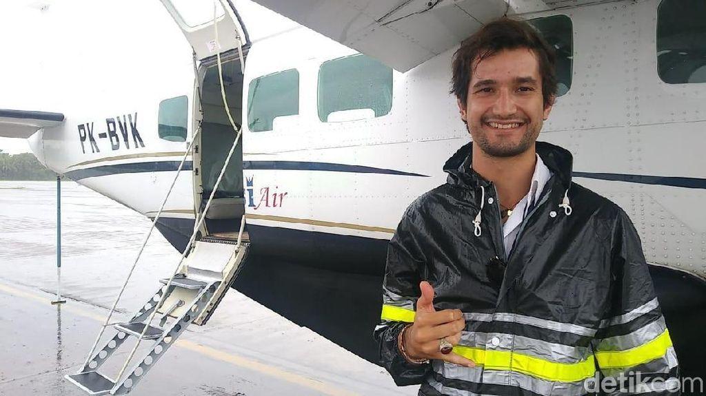 Ini Miguel, Pilot Brasil Ganteng Pesawat Susi Air