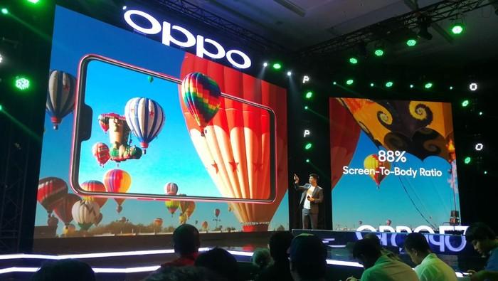Peluncuran Oppo F7. Foto: Muhammad Alif Goenawan/detikinet