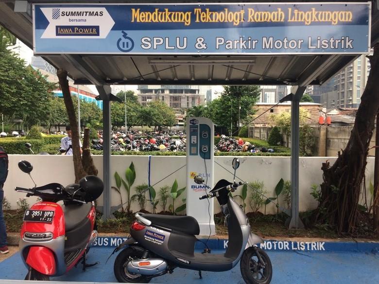 SPLU di salah satu gedung perkantoran Jakarta. Foto: Khairul Imam Ghozali