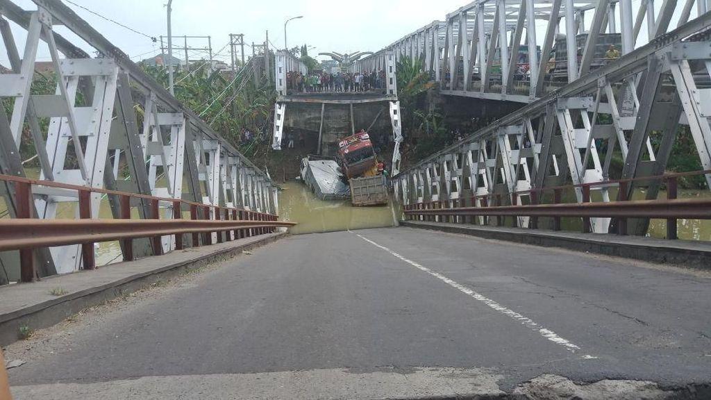 Jembatan Babat Ambrol, PUPR Ganti dengan yang Baru