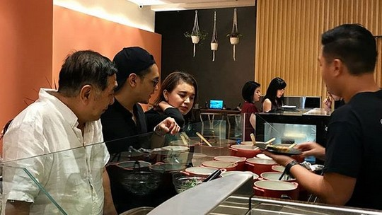 Afgan Syahreza dan Rossa Kepergok Makan Malam Bersama