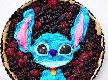 Hai, Stitch, Lilo-nya mana? (Foto: Instagram/ @jacobs_food_diaries)