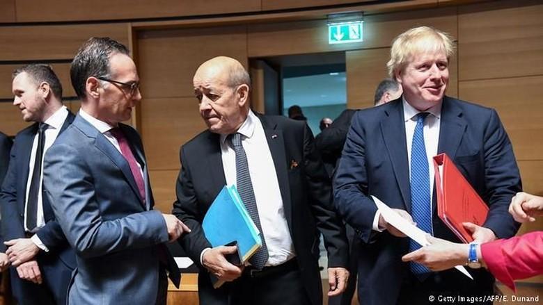 Uni Eropa Rancang Strategi Tangani Konflik Suriah