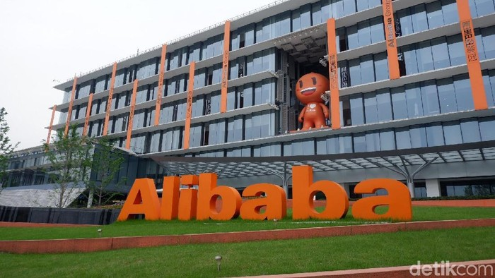 Alibaba berhasil meraup ratusan triliun dalam Singles Day (Harbolnas-nya China) tahun ini. Foto: Adi Fida Rahman/detikinet