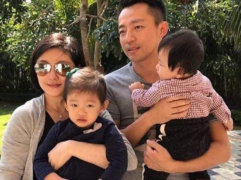 Barbie Hsu dan keluarganya
