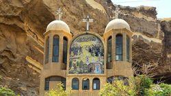 Menengok Keindahan Gereja Sampah di Kairo