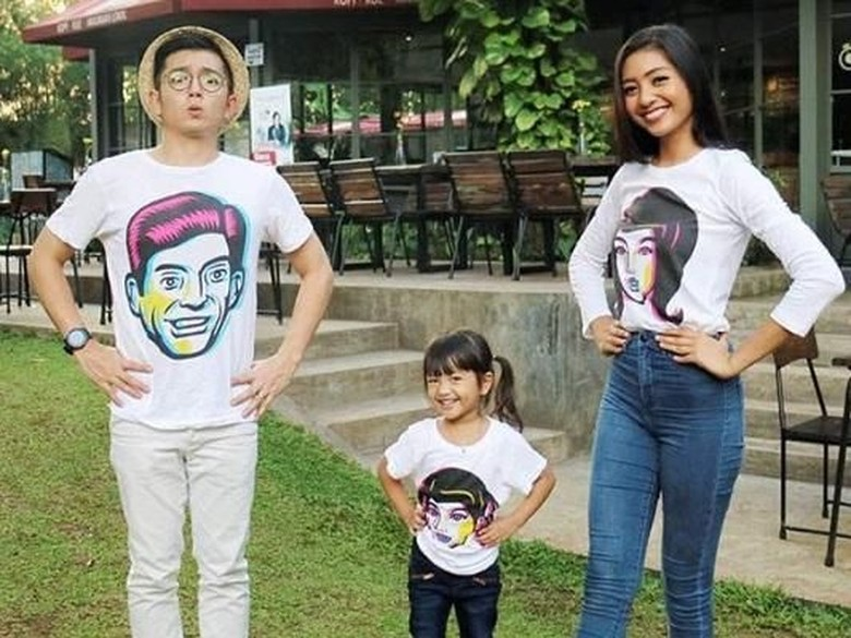 Nicky Tirta dan Liza Elly Bersatu Lagi di Ultah Anak