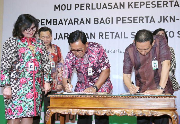 Hal ini semata-mata guna memberikan kemudahan kepada masyarakat untuk membayar iuran Jaminan Kesehatan Nasional (JKN) - Kartu Indonesia Sehat (KIS) secara otomatis setiap bulannya. Foto: dok. BRI