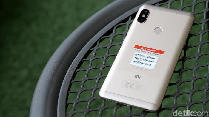Redmi Note 5. Foto: Muhammad Ridho