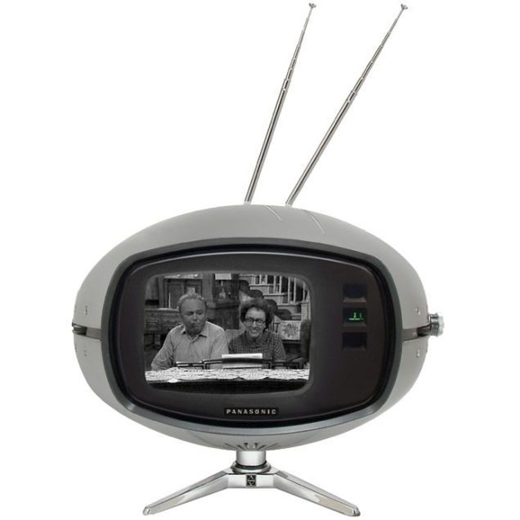 bentuk-bentuk aneh TV zaman dahulu