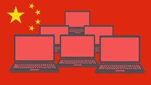 Banjir Laptop China