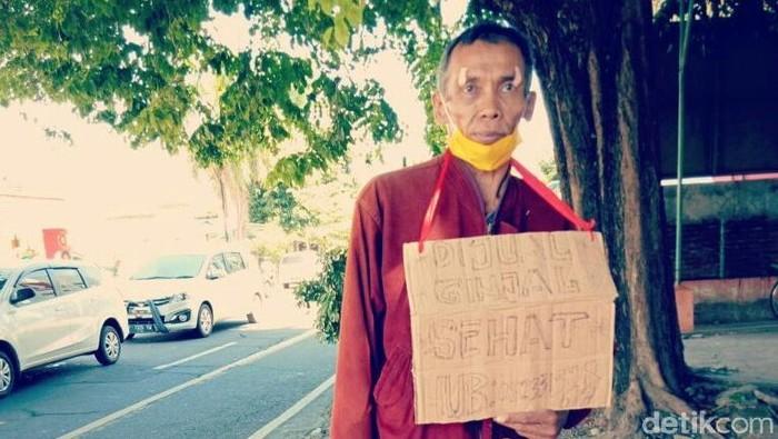 Mujianto nekat jual ginjal untuk bayar utang dan kebutuhan (Foto: Ardian Fanani)