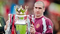 Legenda MU Eric Cantona Masuk Premier League Hall of Fame