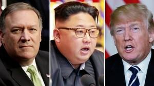 Terungkap! Direktur CIA Mike Pompeo Diam-diam Temui Kim Jong-Un