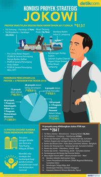 14 Proyek Strategis yang Dicoret Jokowi Tetap Jalan