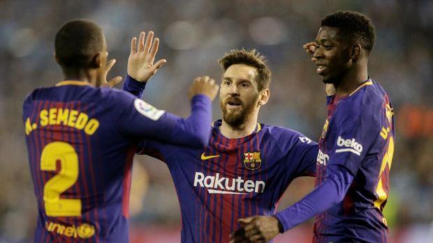 Lionel Messi merupakan bagian penting dari sukses Barcelona dalam satu dekade terakhir.