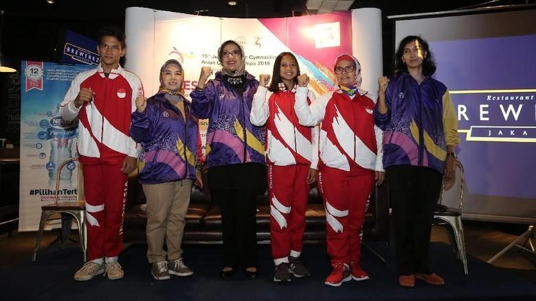 Ini Target Indonesia di Kejuaraan Asia Senam Artistik Junior 2018