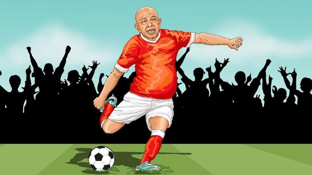Raja Minyak di Lapangan Bola