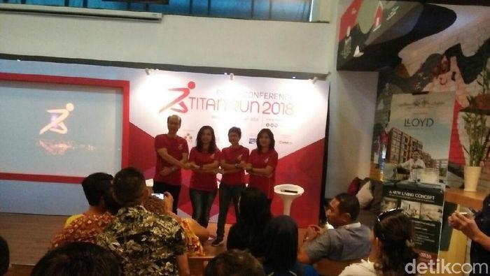 Titan Run 2018 akan digelar pada 11 Agustus 2018 (Foto: Amalia Dwi Septi/detikSport)