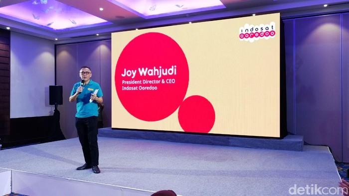 CEO Indosat Joy Wahyudi. (Foto: Muhamad Alif Goenawan/detikINET)