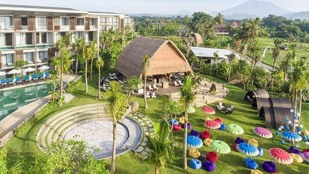 Mewah! Ini Dia Resort Milik Ibunda Nagita Slavina di Bali