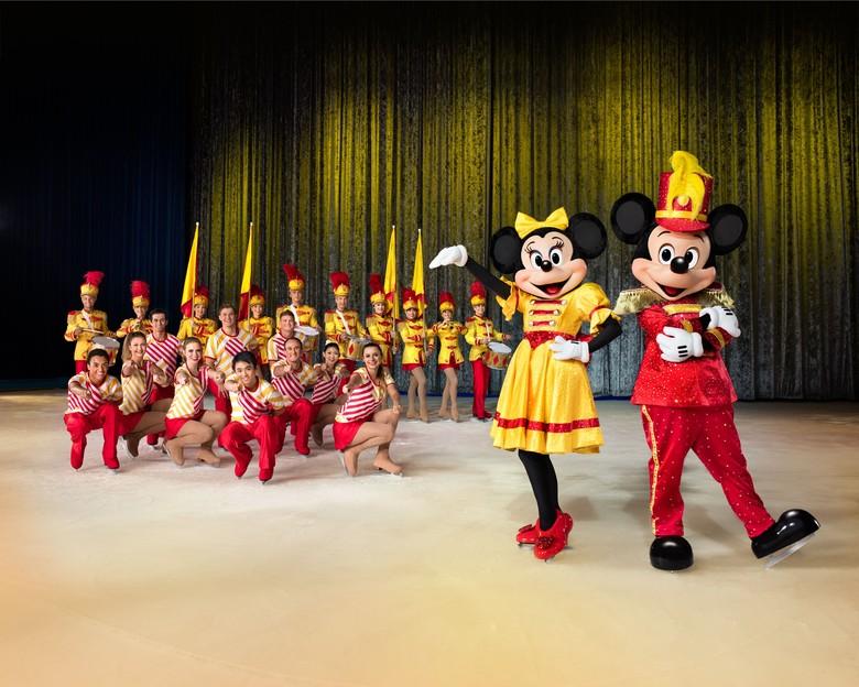Disney on Ice Rayakan 50 Tahun Minnie dan Mickey Mouse  Foto: DME Asia