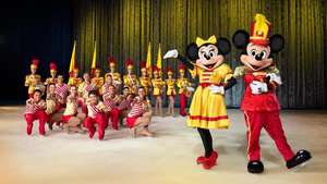 Intip Keseruan 50 Karakter Disney on Ice