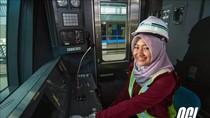 Menhub Perkenalkan Srikandi MRT