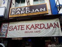 Sate Kardjan: Enak Tenan! Sate Kambing Klaten Legendaris Racikan Pak Kardjan