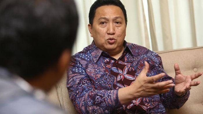 Direktur Utama Adaro Garibaldi Thohir/Foto: Agung Pambudhy/detikcom