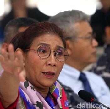 Menteri Kelautan dan Perikanan Susi Pudjiastuti menyebut aktivitas ilegal kapal pembawa satwa sudah terjadi bertahun-tahun.