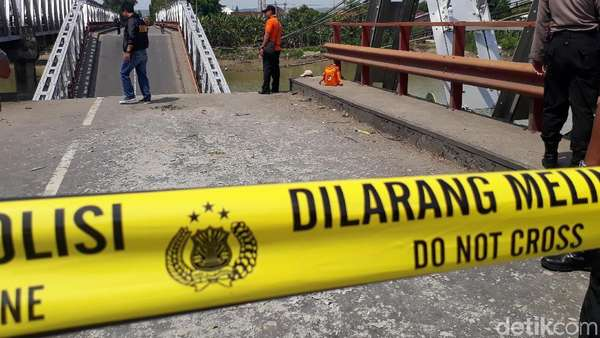 Analisis Pakar ITS soal Ambrolnya Jembatan Babat