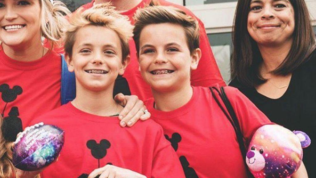 Gantengnya Preston dan Jayden, Anak Britney Spears