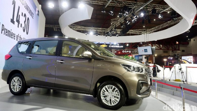 Suzuki Ertiga saat diluncurkan di IIMS 2018 lalu Foto: Rengga Sancaya