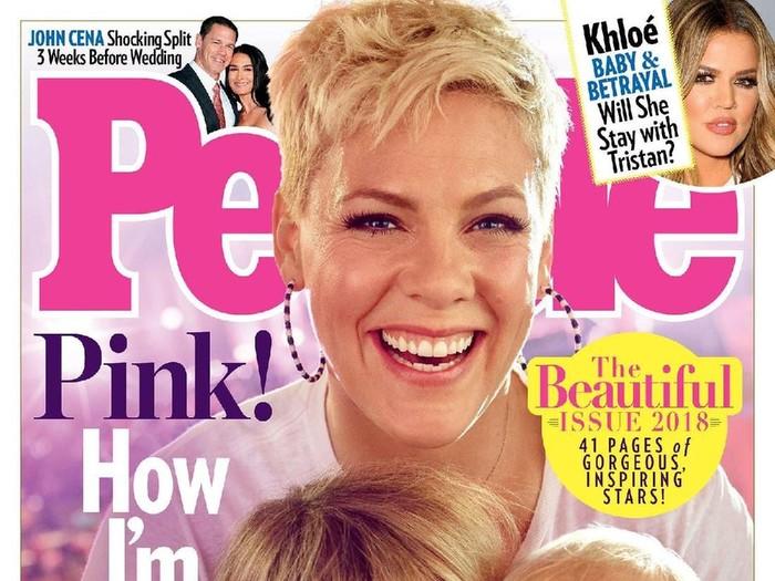 Penyanyi Pink jadi wanita tercantik di dunia versi People