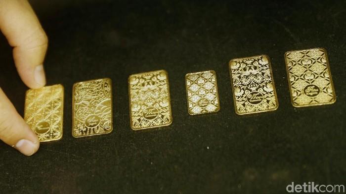 PT Aneka Tambang Tbk kembali meluncurkan emas batangan batik Indonesia seri II sebagai bahan literasi budaya Indonesia.