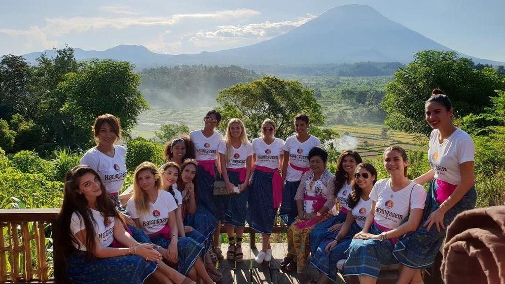 Destinasi Liburan di Bali Ala Finalis Miss Universe 2015