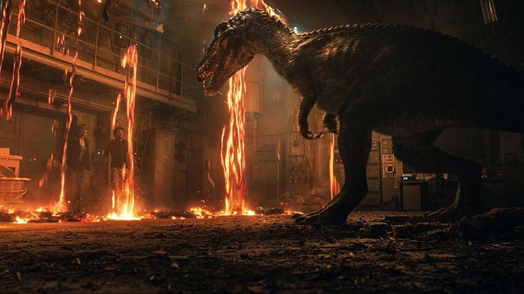 Giganotosaurus Bakal Tebar Ancaman di Jurassic World: Dominion!