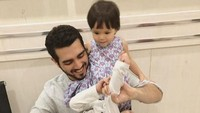 Fachri Albar menjalani proses hukumnya atas kasus narkoba. Dua anaknya dari Renata Kusmanto menjenguknya sebelum menjalani sidang. (Foto: Dok. Instagram/renata711)