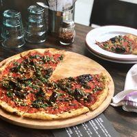 Pizza vegan yang sempat diunggah oleh Gordon Ramsay.